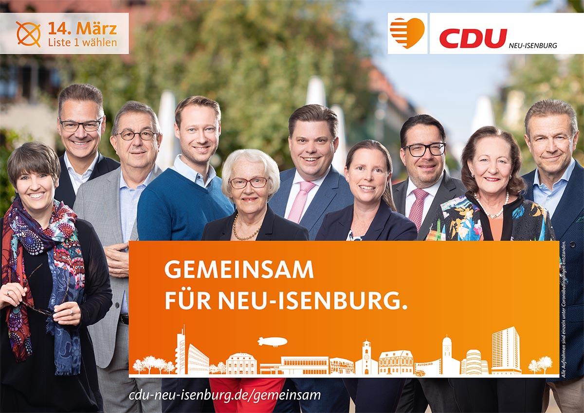Flyer 45 gute Gründe für Neu-Isenburg