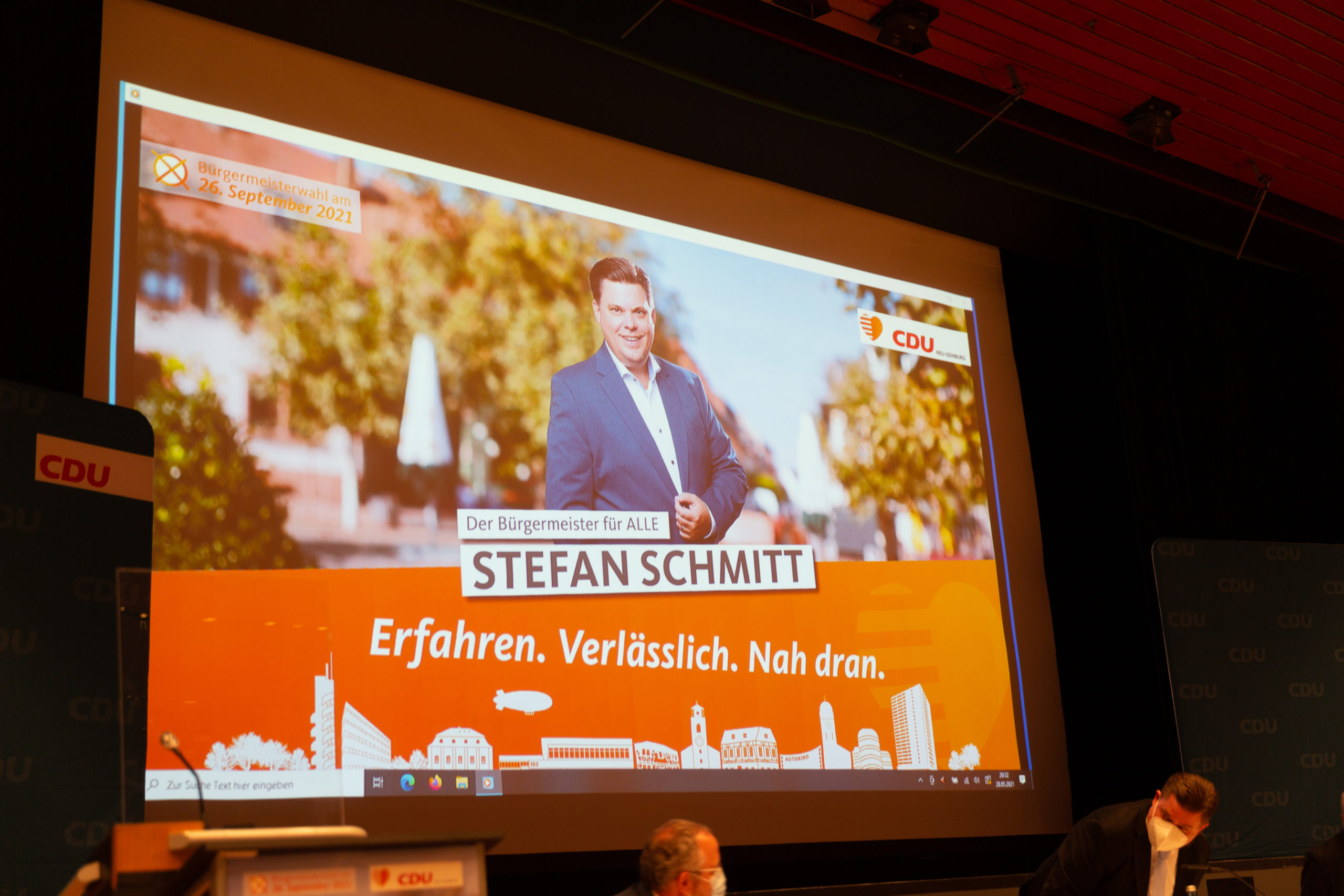 Stichwahl am 10.Oktober 2021 für die Wahlen zum Bürgermeister und Landrat